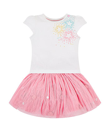 Mothercare Start T-Shirt And Tutu Set