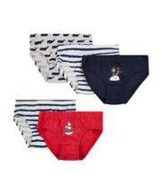 Mothercare Whale Briefs - 5 Pack