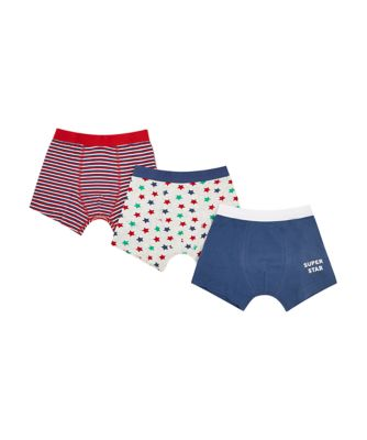 Mothercare Super Star Trunks - 3 Pack