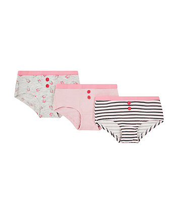Mothercare Ballerina Hipsters - 3 Pack