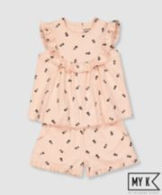 Mothercare My K Pineapple Top And Shorts Set