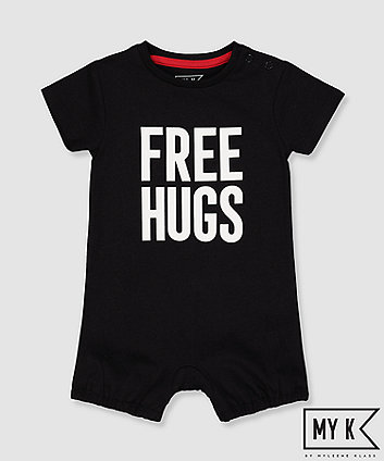 One-pieces Clothing, Shoes & Accessories Mamas And Papas Sleep Suit Romper & Bib 3-6 Months