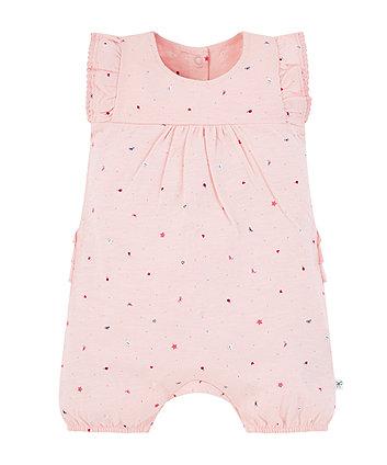 Mothercare Pink Seaside Romper