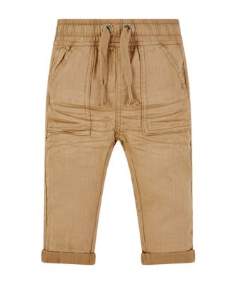 Mothercare Stay Wild Tan Woven Trousers
