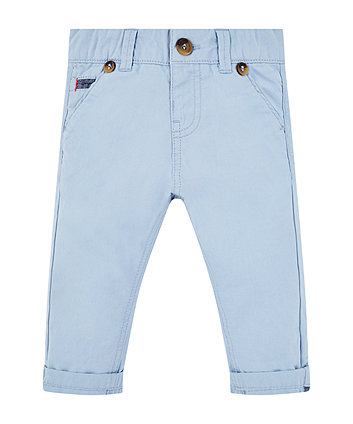 Mothercare Blue Woven Trousers