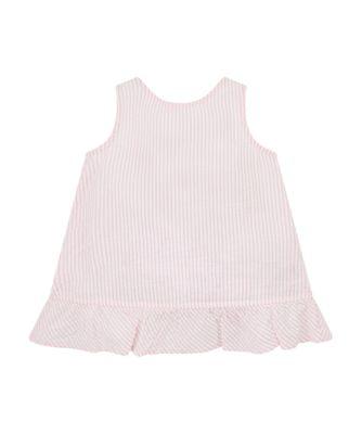 Mothercare Dollshouse Pink Strap Seersucker Blouse