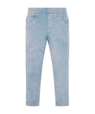 Mothercare Pastel Peace Acid Wash Denim Jeggings