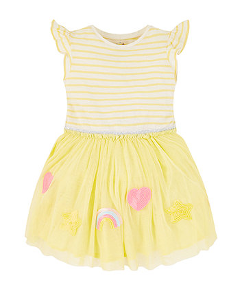 Mothercare Sequin Heart Tutu Dress