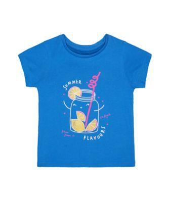 Mothercare Dolce Vita Blue Lemon Jar Short Sleeve T-Shirt