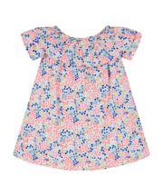 Neon Floral Bardot Dress
