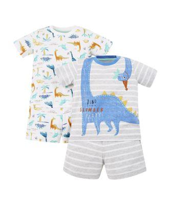 Mothercare Dinosaur Slumber Party Shortie Pyjamas � 2 Pack