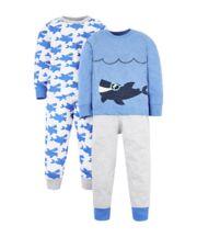 Shark Pyjamas - 2 Pack