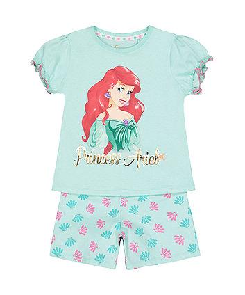 Disney Princess Ariel Shortie Pyjamas