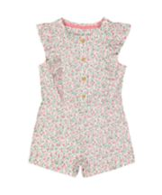 Mothercare Floral Playsuit