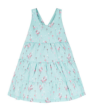Mothercare Blue Balloon Tiered Dress