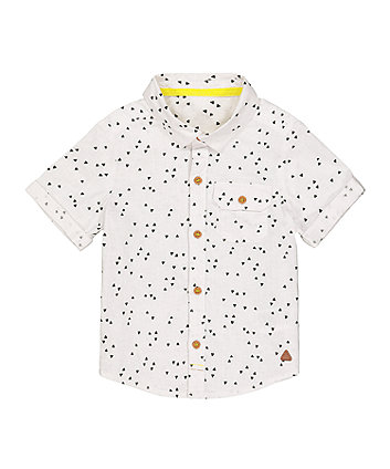 Mothercare White Triangle Shirt
