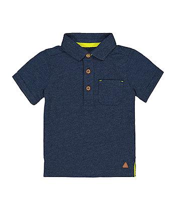 Mothercare Navy Polo T-Shirt