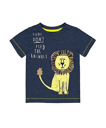 Mothercare Please Don'T Feed The Lion T-Shirt