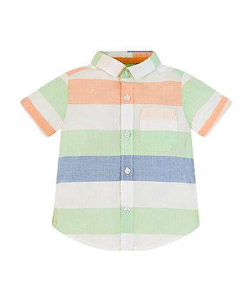 Mothercare Block Striped Shirt