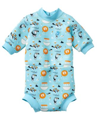 Mothercare Splash About Happy Nappy Wetsuit Noah - 3-8 Months
