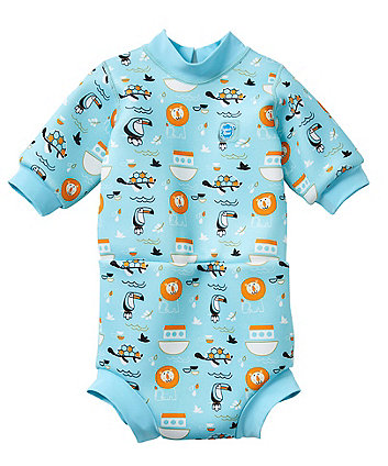 Mothercare Splash About Happy Nappy Wetsuit - Noah'S Ark