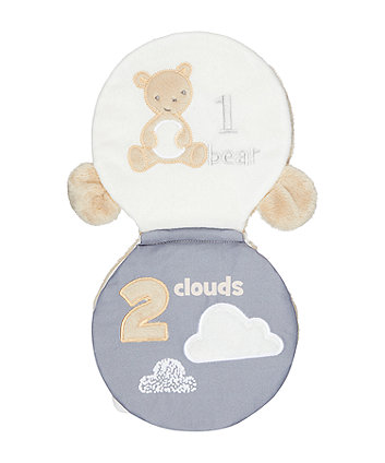 Mothercare Little And Loved Soft Book