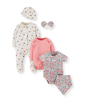 Mothercare Floral Six-Piece Set