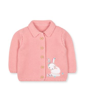 Mothercare Prairie Flower Pink Knitted Cardigan