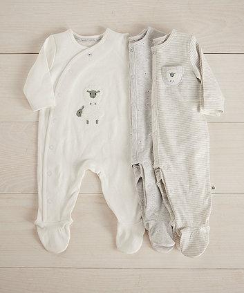 Bekleidung Spieler Skid Row Unisex-Baby Weißlich Logo Onesie