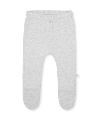 Mothercare NB Modern Grey Lamb Knit Leggings