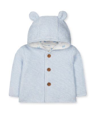 Mothercare My First Safari Blue Knitted Cardigan