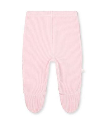 Mothercare My First Pink Mouse Rib Velour Leggings