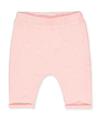 Mothercare NB Modern My First Bunny Pink Trousers