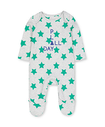 Mothercare Grey Star Play All In One