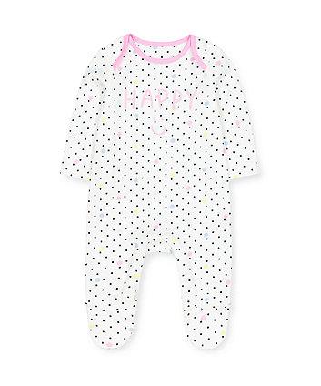 Mothercare Happy Sleepsuit