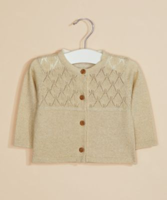 Mothercare Special Collection Gold Lurex Cardigan