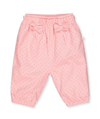 Mothercare Prairie Flower Pink Spot Corduroy Trousers
