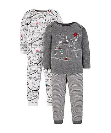 Mothercare Little City Pyjamas - 2 Pack