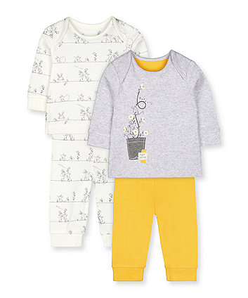 Mothercare Oops A Daisy Pyjamas - 2 Pack