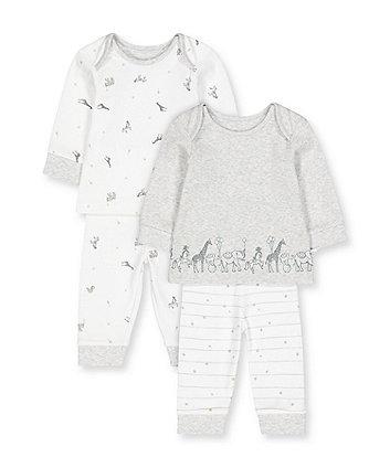 Mothercare Circus Animals Pyjamas - 2 Pack