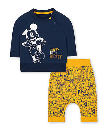 Mothercare Mickey Mouse Jog Set