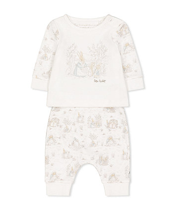Mothercare Peter Rabbit White T-Shirt And Joggers Set
