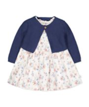 Mothercare Peter Rabbit Dress And Cardigan Set
