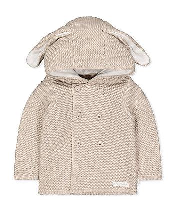 Mothercare Peter Rabbit Beige Knit Cardigan