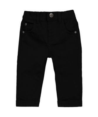 Mothercare Soft Visionary Black Trousers