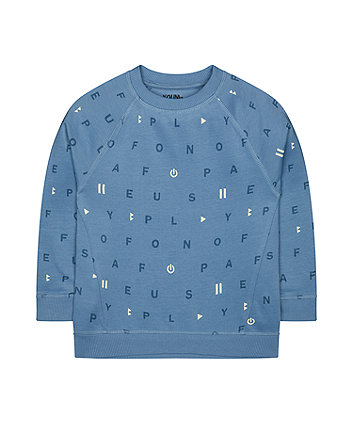 Mothercare Play - Pause Sweat Top