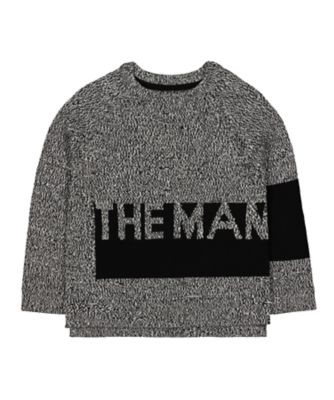 Mothercare Soft Visionary The Man Knitted Jumper