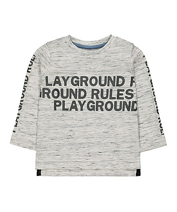 Mothercare Playground Rules T-Shirt