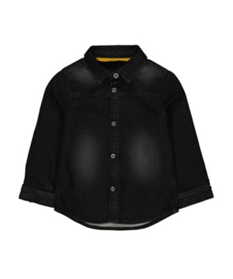 Mothercare Soft Visionary Black Denim Shirt