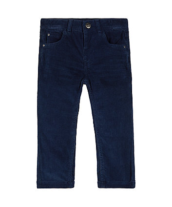 Mothercare Navy Cord Trousers
